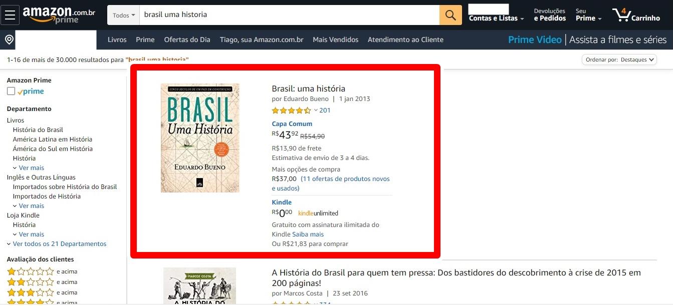 Como comprar na Amazon? É confiável?